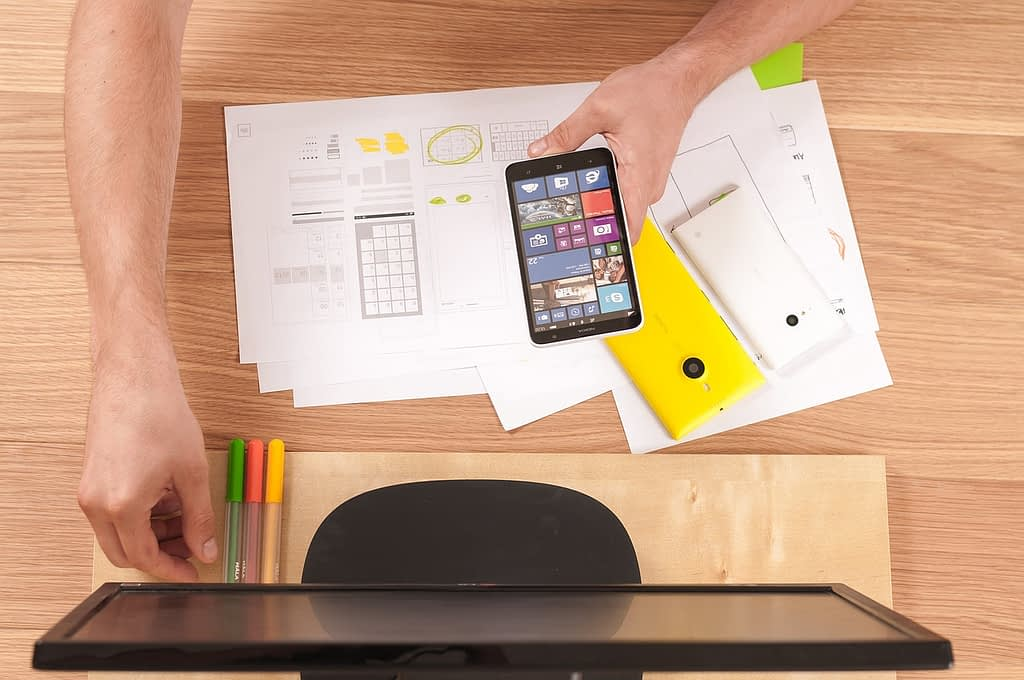 phone, tablet, screen