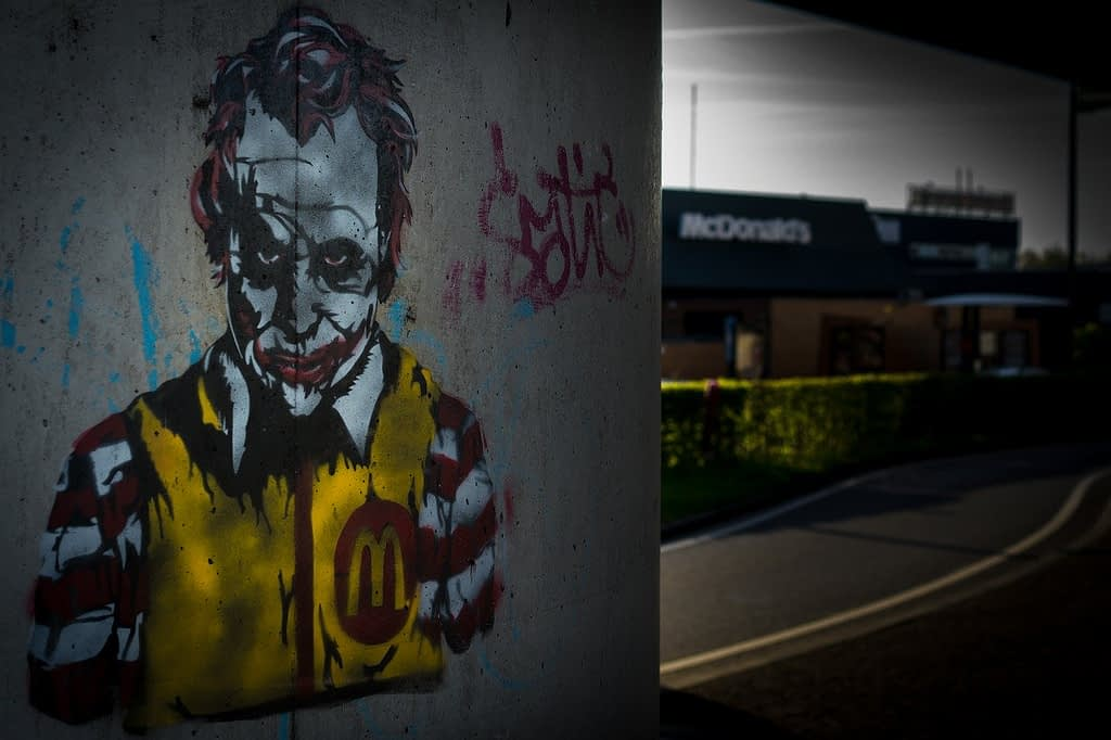 mcdonalds, ronald, joker