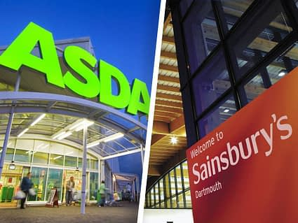 Asda and Sainbury's merger