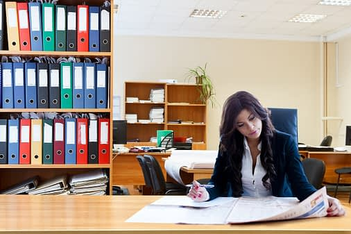 working, business women, female