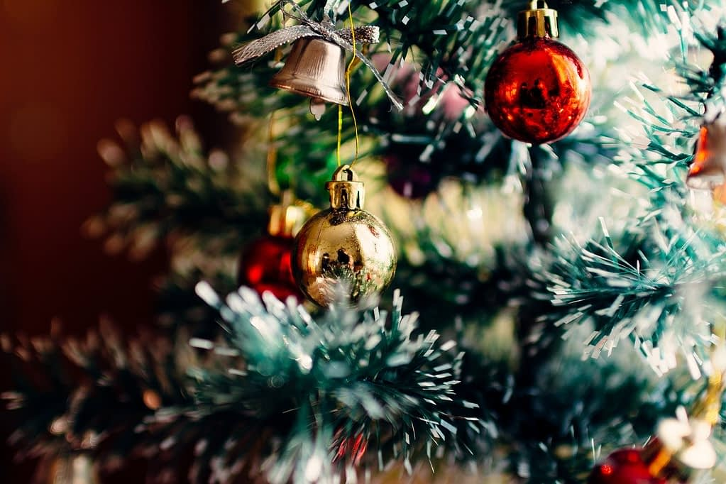 christmas tree, ornaments, christmas