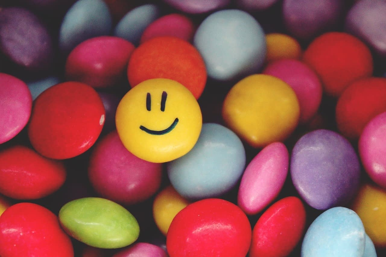 smarties, smiley, emoticon